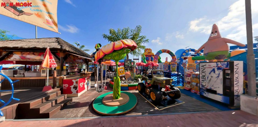 Parque infantil Mon-Magic en 360º