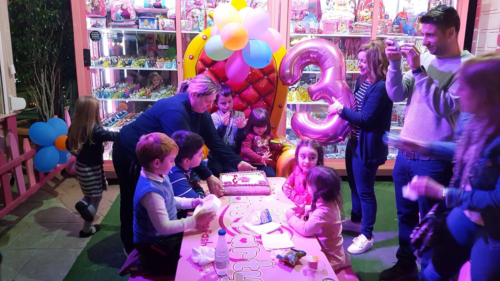Cumpleaños princesas fashion Stars Party