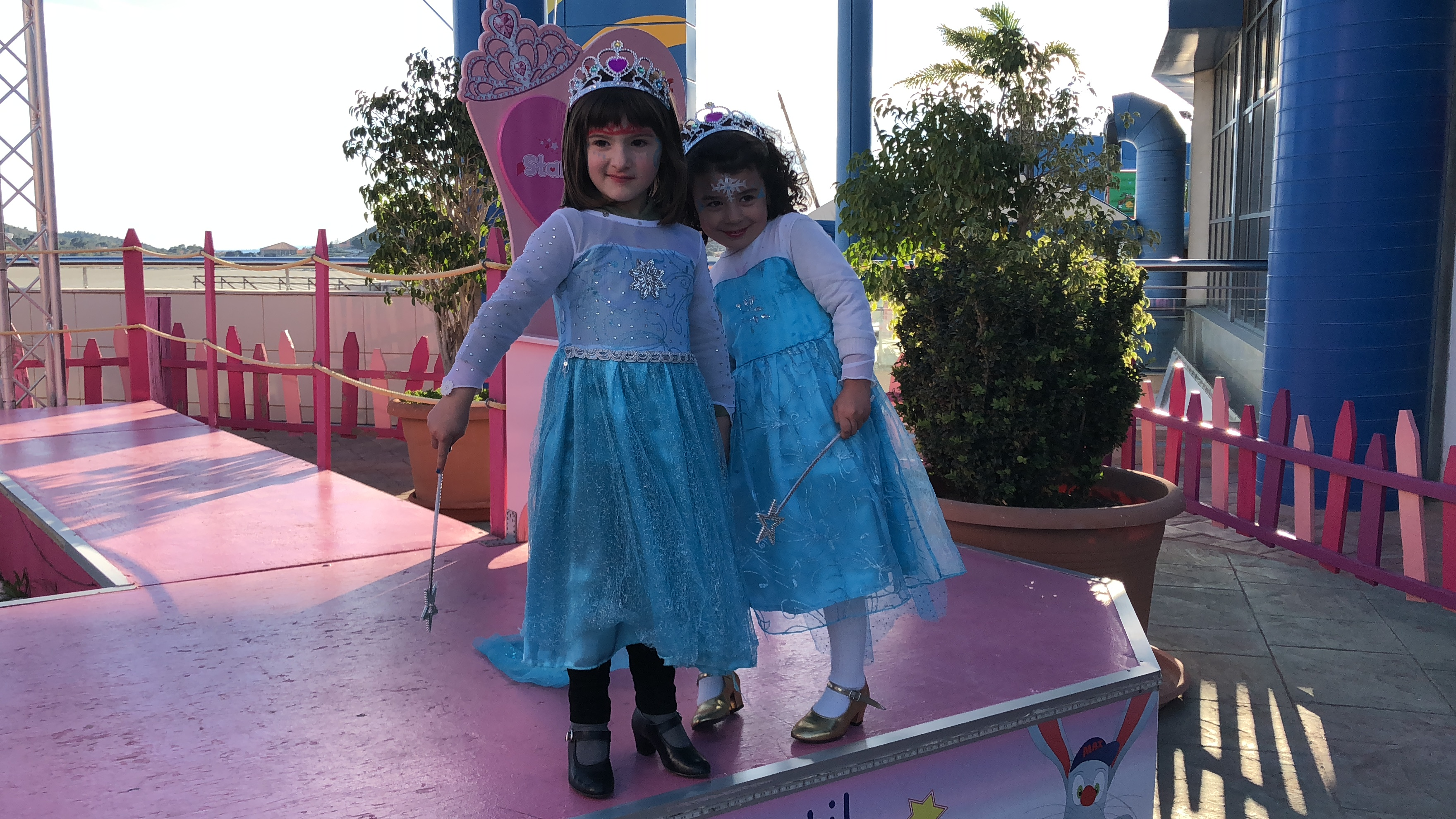 princesas desfile Stars Party